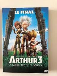 Arthur et la guerre des deux mondes. Arthur - 3. DVD / Réalisé par Luc Besson | Besson, Luc (1959-....). Monteur