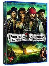 Pirates des Caraibes 4. DVD : La Fontaine de jouvence / Réalisé par Rob Marshall | Marshall, Rob. Monteur