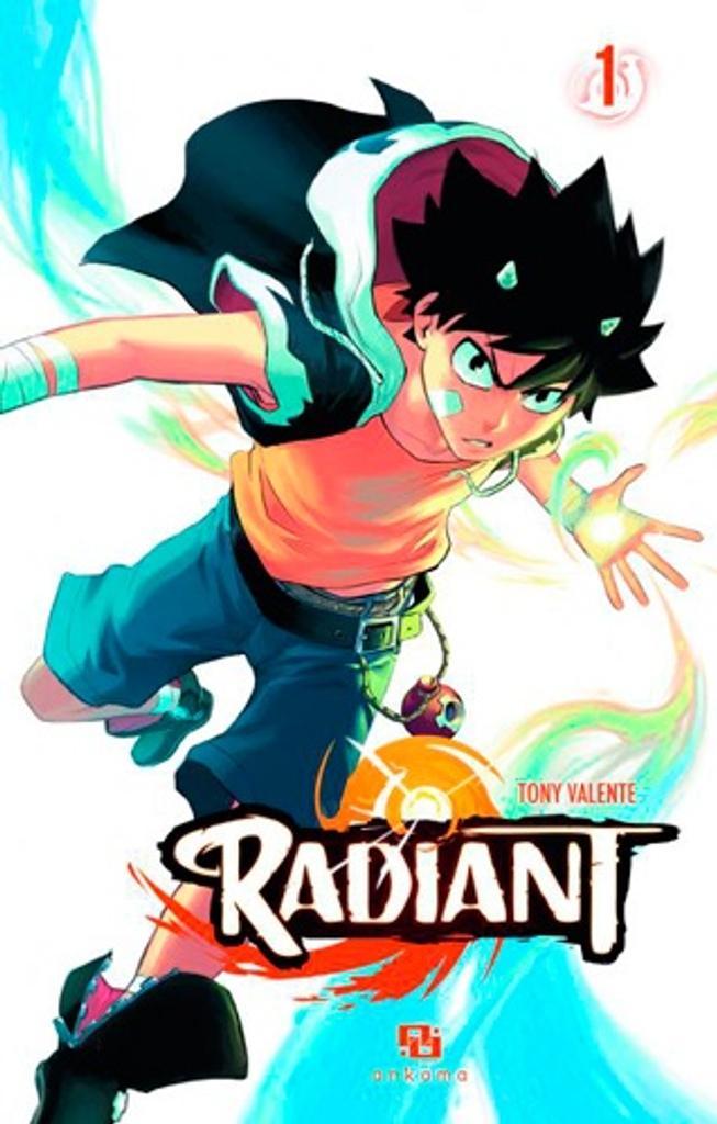 Radiant T . 1 / scénario et dessin Tony Valente  