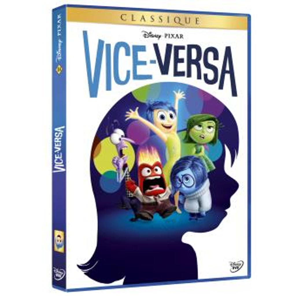 Vice Versa : DVD = Inside Out / Pete Docter, réal. | Docter, Pete. Monteur. Scénariste