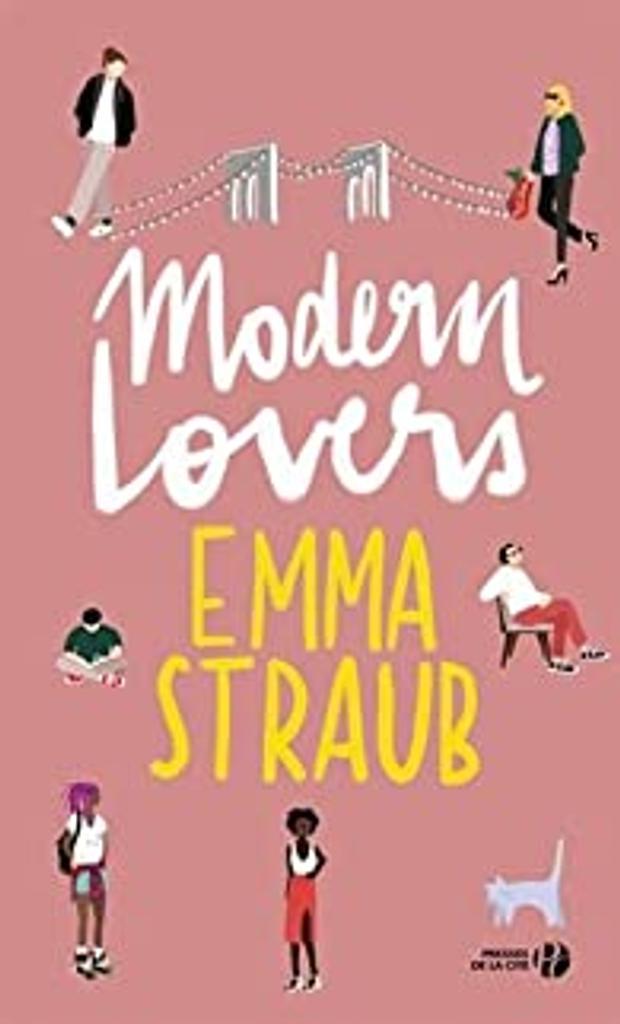Modern lovers / Emma Straub   Straub, Emma. Auteur