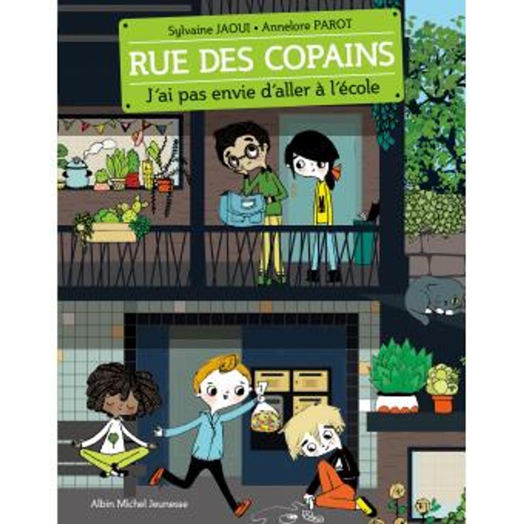 J'ai pas envie d'aller à l'école / Sylvaine Jaoui | Jaoui, Sylvaine (1962-....). Auteur
