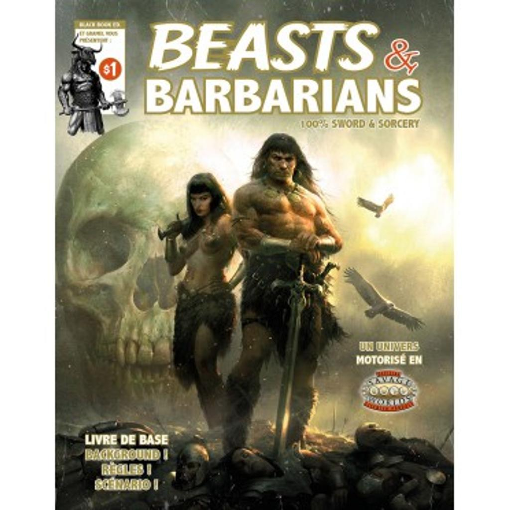 Beasts and Barbarians: Livre de base / Jonathan Thompson  