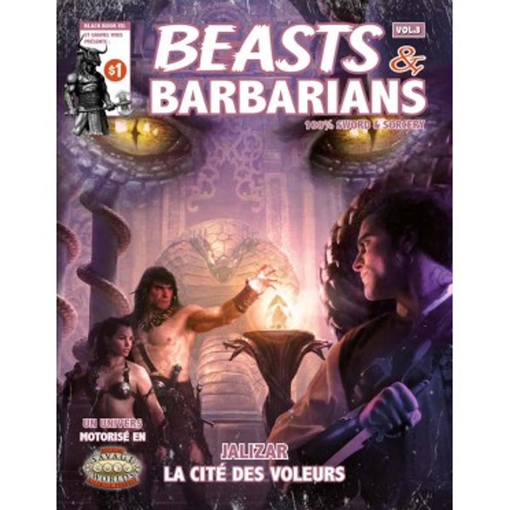 Beasts and Barbarians: Jalizar la cité des voleurs / Jonathan Thompson  