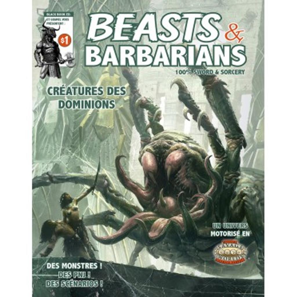 Beasts and Barbarians: Créatures des Dominions / Jonathan Thompson  