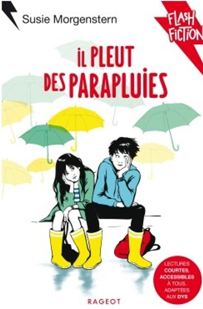 Il pleut des parapluies / texte de Susie Morgenstern   Morgenstern, Susie (1945-....). Auteur