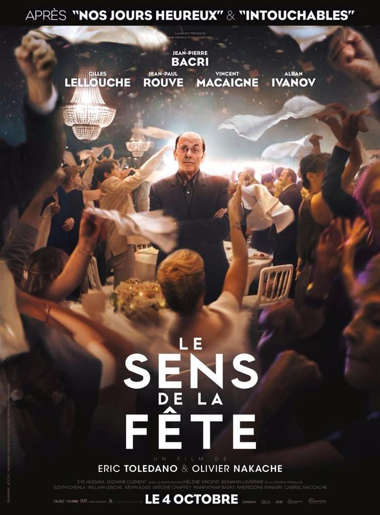 Sens de la fête (Le). DVD / Eric Toledano, Olivier Nakache, réal. | Toledano, Eric. Metteur en scène ou réalisateur. Scénariste