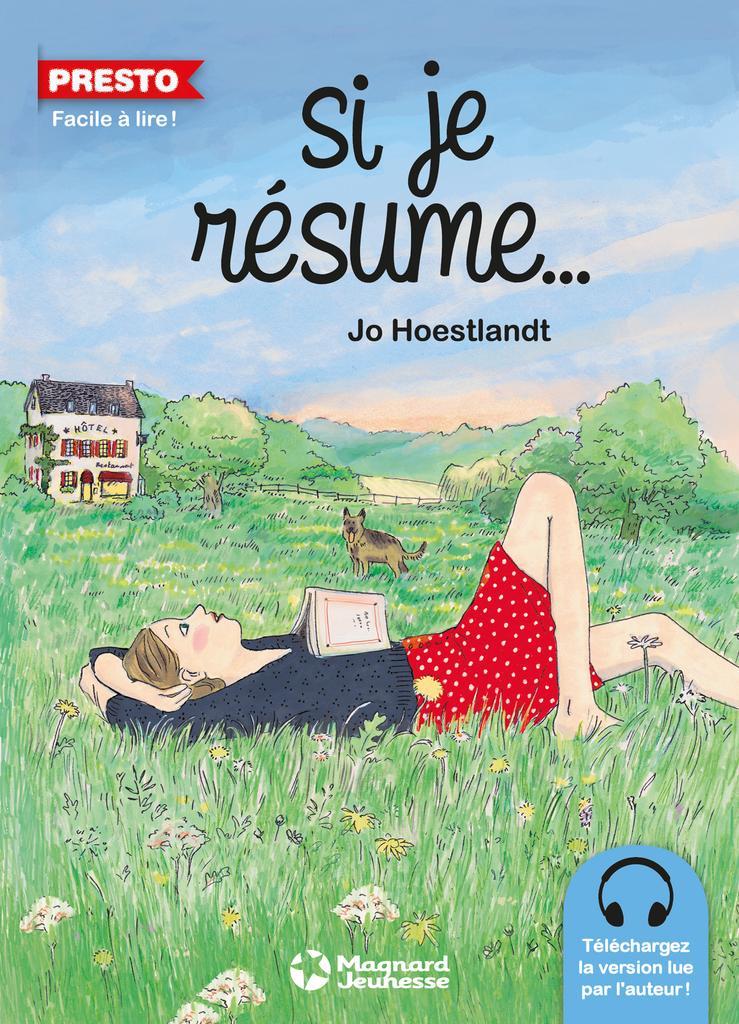 Si je résume... / Jo Hoestlandt | Hoestlandt, Jo (1948-....). Auteur