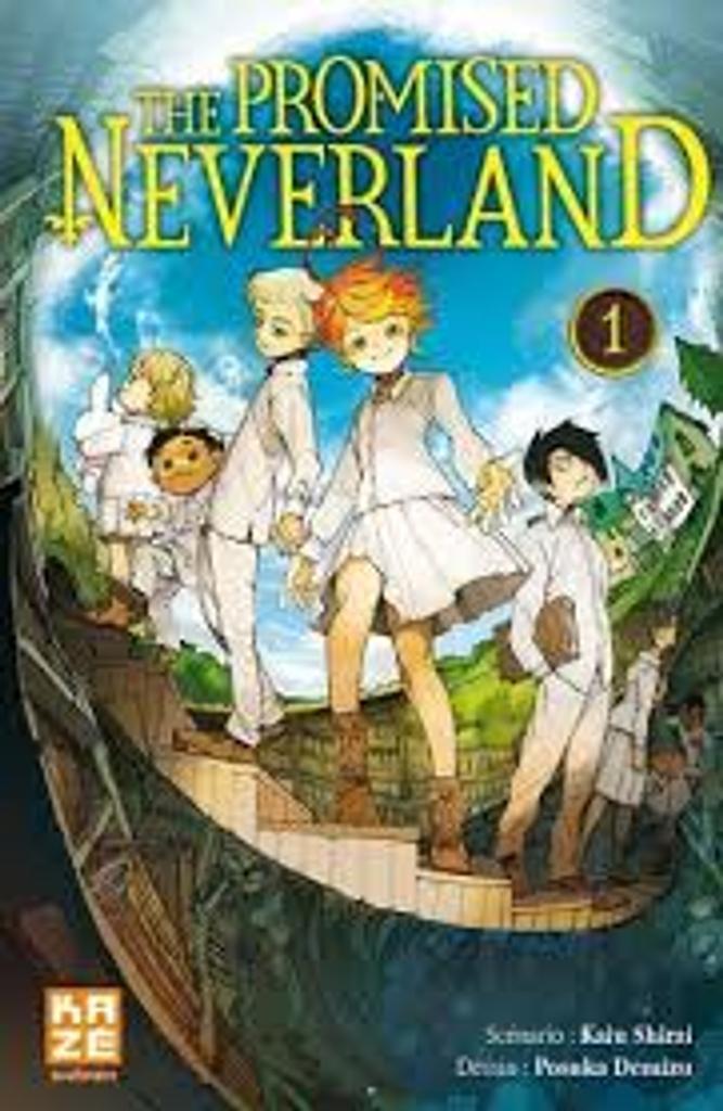 The promised neverland, T. 1 / scénario Kaiu Shirai   Shirai, Kaiu. Auteur