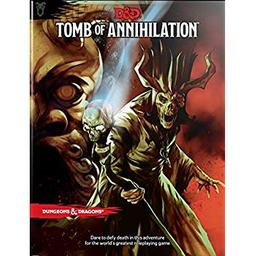 Dungeons and Dragons : Tomb of annihilation (Donjons et Dragons : La Tombe de l'annihilation) / Jeremy Crawford | Andy Law