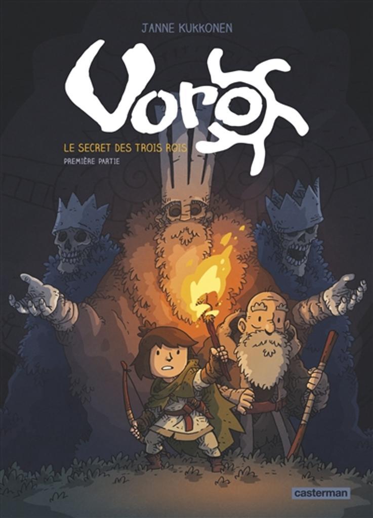 Voro, T. 1 : l'urne : le secret des trois rois / Janne Kukkonen  