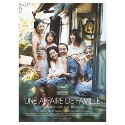 Affaire de famille (Une). DVD = Manbiki kazoku / Hirokazu Kore-Eda, réal.  | Kore-Eda, Hirokazu. Scénariste