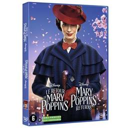 Retour de Mary Poppins (Le). DVD = Mary Poppins Returns / Rob Marshall, réal.  | Marshall, Rob. Scénariste
