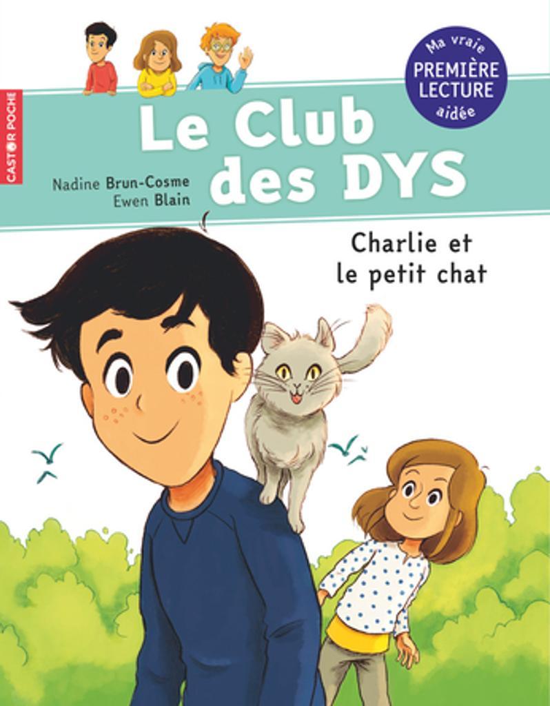 Charlie et le petit chat / texte de Nadine Brun-Cosme   Brun-Cosme, Nadine (1960-....). Auteur