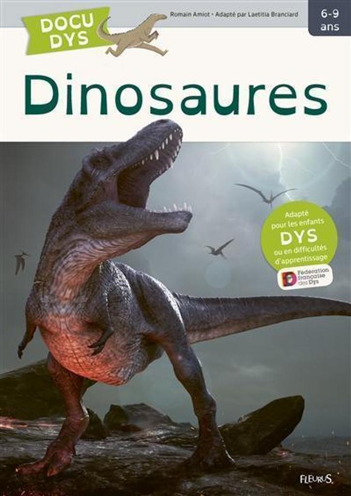 Dinosaures / écrit par Romain Amiot   Amiot, Romain. Auteur