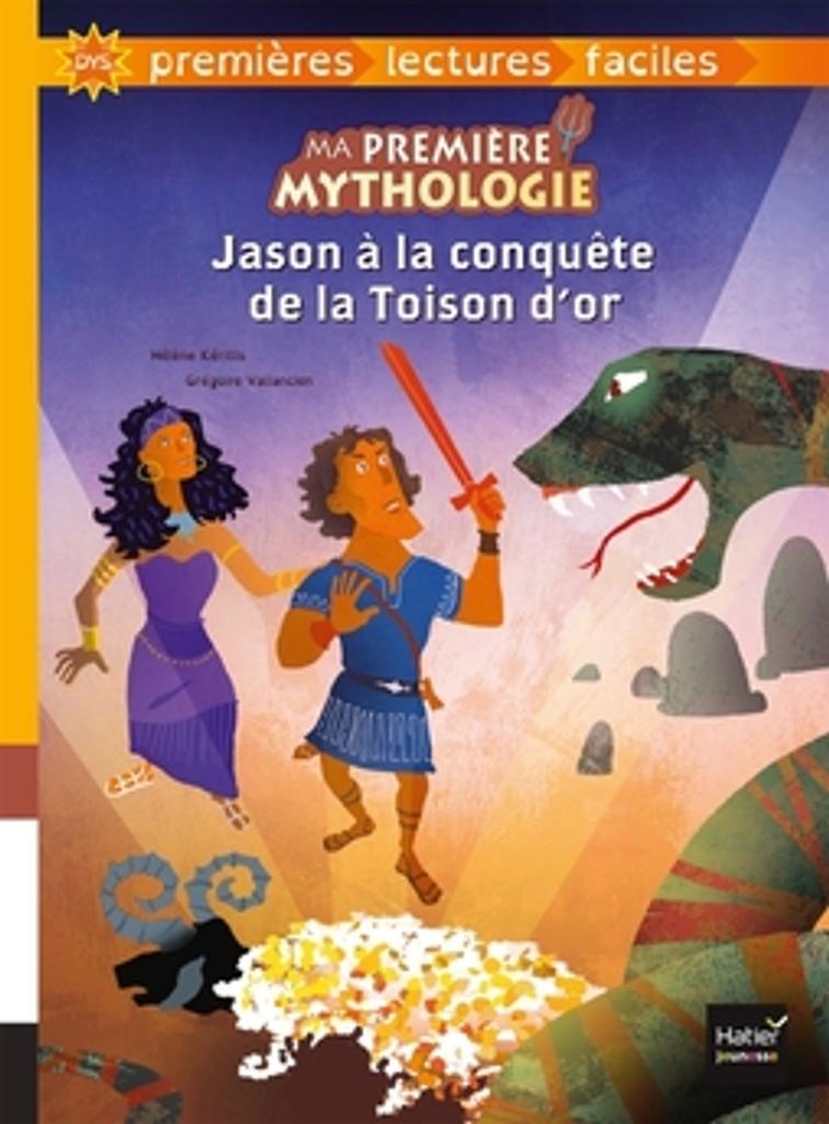 Jason à la conquête de la Toison d'or / texte adapté par Hélène Kérillis   Kérillis, Hélène (1951-....). Auteur