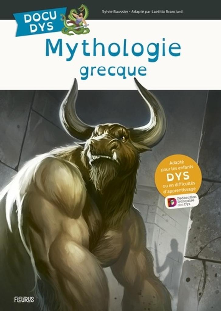 Mythologie grecque / Sylvie Baussier   Baussier, Sylvie. Auteur