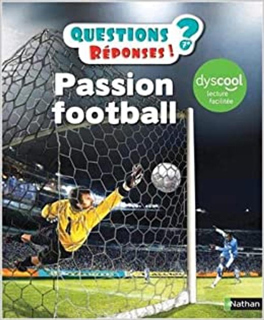 Passion football / écrit par Mickaël Grall   Grall, Mickaël. Auteur