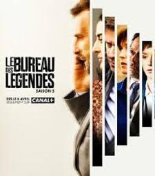 Le Bureau des légendes 1 saison 5. DVD / Eric Rochant, Jacques Audiard, réal.    Rochant, Eric. Scénariste