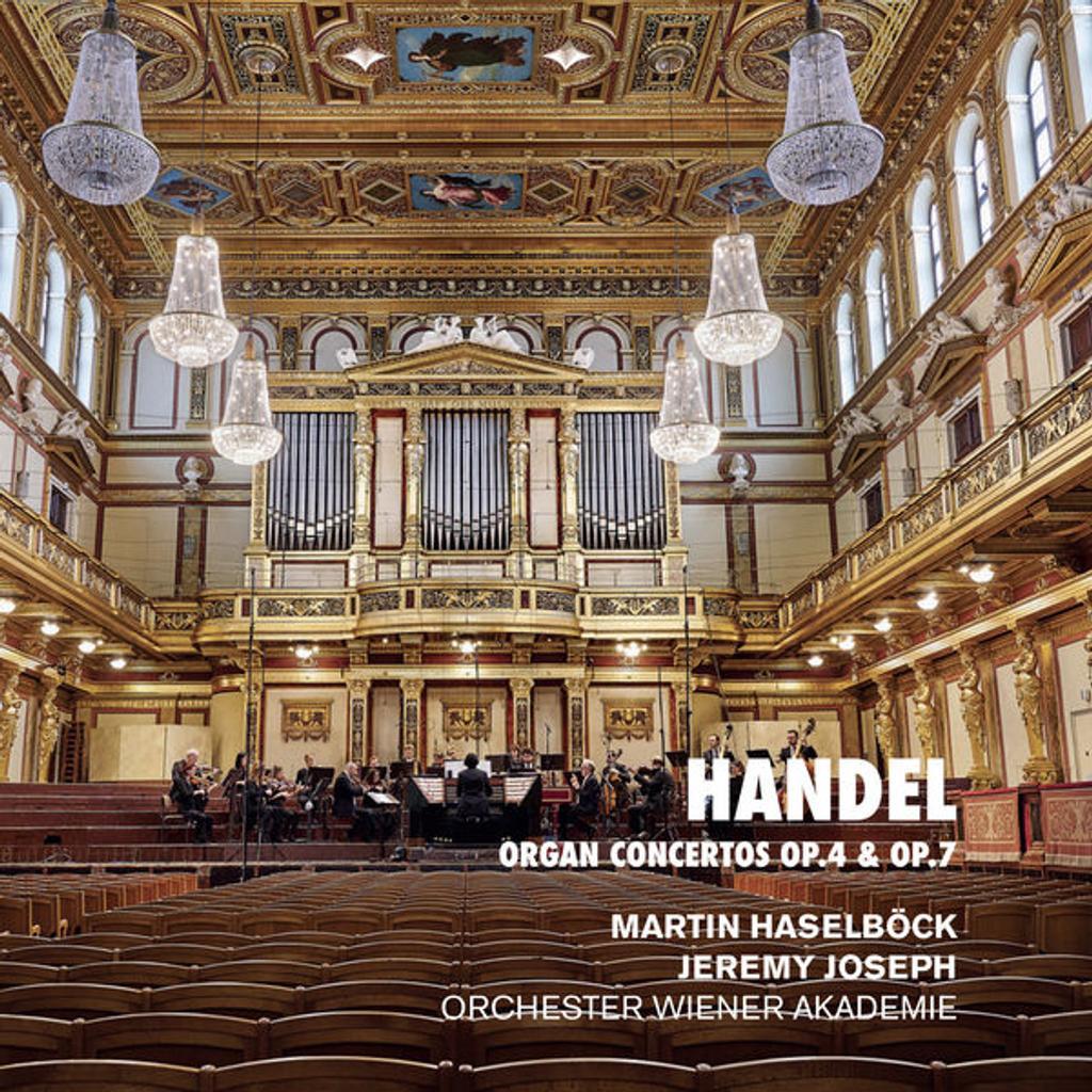 Organ concertos op.4 & op.7 / George Frideric Handel |